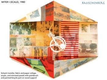 Robert Rauschenberg Art SHOW + TEST =  242 Slides Pop Art Popart Modern