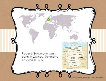 Robert Schumann - his life and music PPT