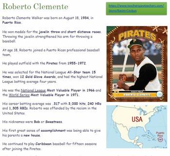 Roberto Clemente Bio
