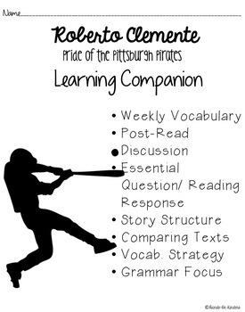Journey's: Roberto Clemente Google Drive Lesson and Student Companion