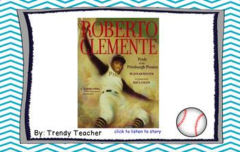 Roberto Clemente Journey's flipchart