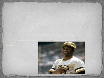 Roberto Clemente: Journey's Lesson 5