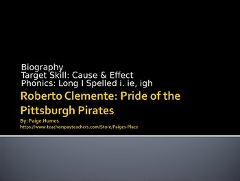 Roberto Clemente PPT Journeys Lesson 5