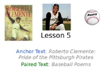 Roberto Clemente PowerPoint with Weekly Activities for Jou