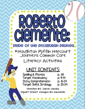 Roberto Clemente: Pride of the Pittsburgh Pirates (Journeys Supplemental)