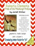 Roberto Clemente Mini Pack Activities 3rd Grade Journeys U