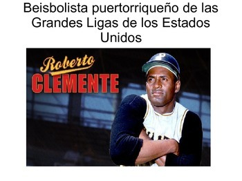 Roberto Clemente & The Present Subjunctive
