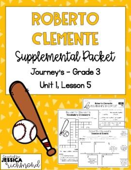Roberto Clemente - Supplemental Packet