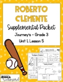 Roberto Clemente - Supplemental Packet