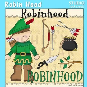 Robin Hood Clip Art C. Seslar