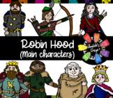 Robin Hood Clips (Main Characters)