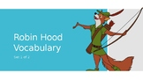 Diseny's Robin Hood Vocabulary Package