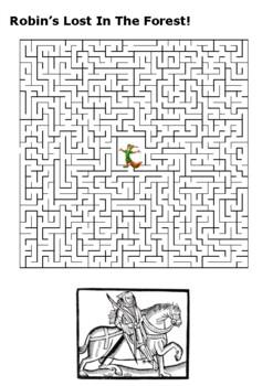 Robin Hood Word Search