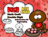 Robin Life Cycle Double Digit Subtraction No Regrouping Math CRAFT