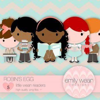 Robin's Egg - Little Readers Clip Art