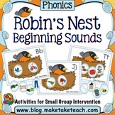 Alphabet - Beginning Sounds Robin's Nest