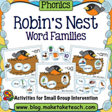 Word Families - Robin's Nest