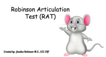 Robinson Articulation Test