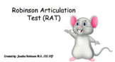 Robinson Articulation Test