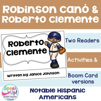 Robinson Canó & Roberto Clemente Readers {Hispanic Heritag