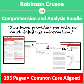 Robinson Crusoe – Comprehension and Analysis Bundle
