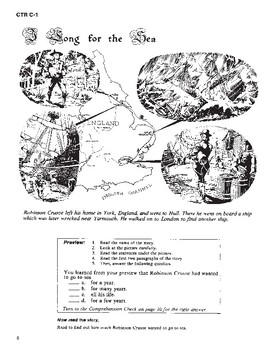Robinson Crusoe Read-along with Activities and Narration