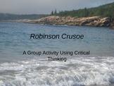 Robinson Crusoe Group Activity Using Critical Thinking Pow