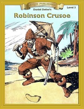 Robinson Crusoe RL3-4 ePub with Audio Narration