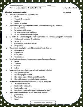 Robo en la noche: Examen de los Capítulos 1-9