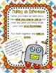 Robo*Buddies Inference Center or Small Group Activity