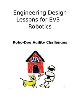 Lego EV3 RoboDog Agility Course Challenges