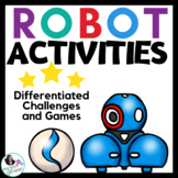 Robot Activites for Hour of Code can be used with Dash or Sphero (& more!)