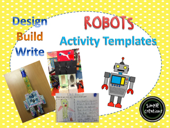 Robot Activity- Design, Build and Write