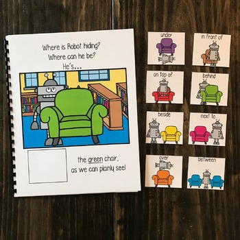 """Robot Adapted Book:  """"Where Is Robot Hiding?"""""""