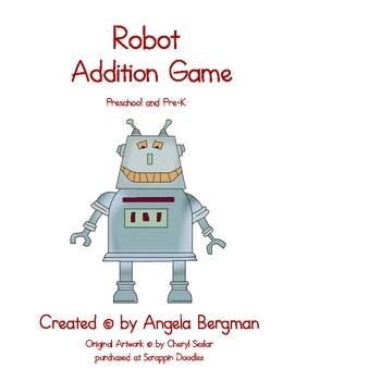 Robot Addition Game