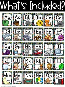 Robot Alphabet Posters - Robot Classroom Decor