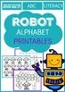 Robot Alphabet Printables