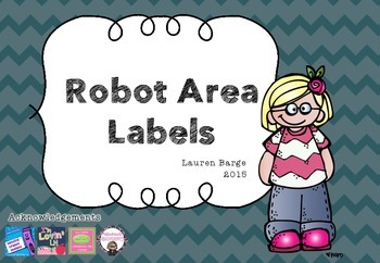 Robot Area Activity