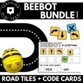 Robot BeeBot / Mice Bundle - ALGORITHM CARDS + ROAD TILES