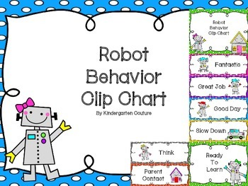 Robot Behavior Clip Chart  -(choice #1)