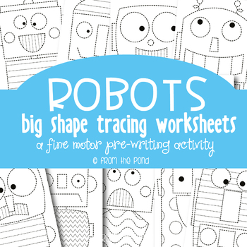 Shape Robot Teaching Resources | Teachers Pay Teachers