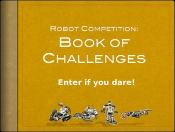 Robot Competition: The Book of Challenges