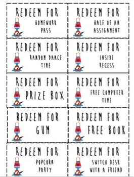 Robot Bucks Reward System {a classroom economy system}