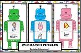Robot CVC Matching Game