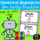Robot Calm Down:  Early Reader on Emotional Regulation in B/W