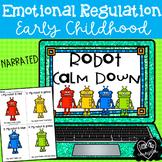 Robot Calm Down:  Emotional Regulation Narrated PowerPoint
