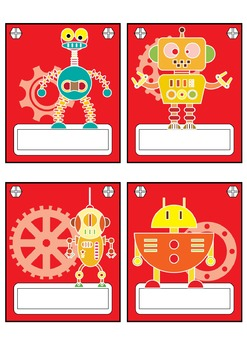 Robot Classroom Theme and Decoration