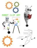 Robot Clip Art