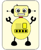 Robot Clipart - 10 x JPG Robots Ready for Action