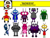 Robot Clip Art Collection -- Personal or Commercial Use